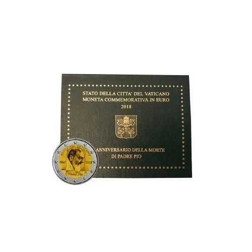 Vaticano - 2018 - 2€ Padre Pio