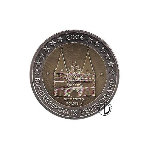 Germania - 2006 - 2€ Porta di Lubecca