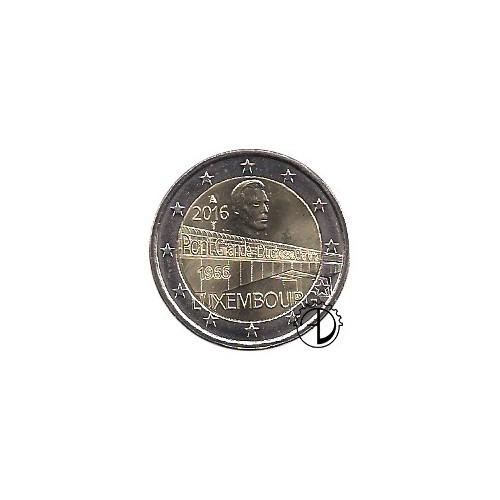 Lussemburgo - 2016 - 2€ Ponte Granduchessa Carlotta