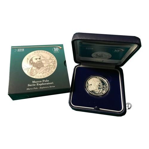 Italia - 2018 - 10€ Marco Polo PROOF