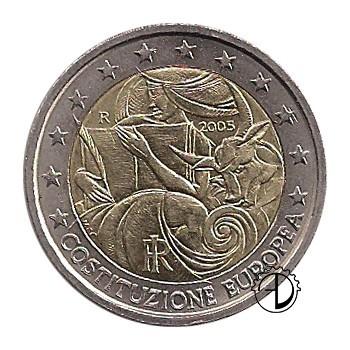 Italia - 2005 - 2€ Costituzione Europea