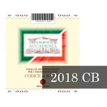Fogli Italia 2018 Cod Barre - Accademia