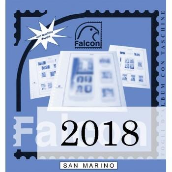 Fogli San Marino 2018 - Falcon