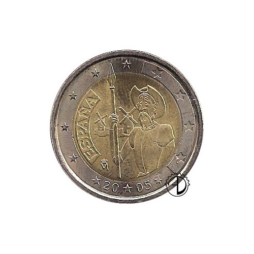 Spagna - 2005 - 2€ Don Chisciotte