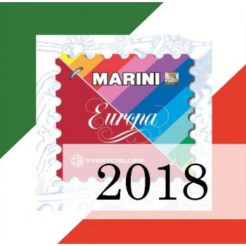 Fogli Italia 2018 - Europa