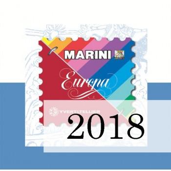 Fogli San Marino 2018 - Europa