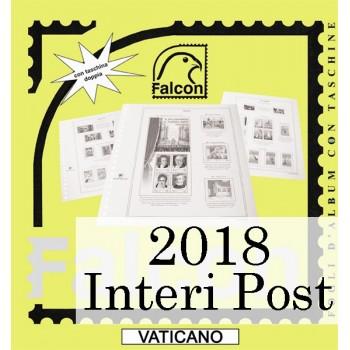 Fogli Vaticano 2018 Interi Postali - Falcon