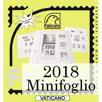 Fogli Vaticano 2018 MF Diritti dell'Uomo - Falcon
