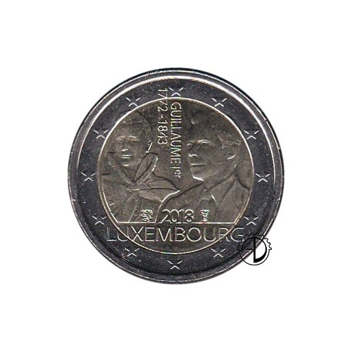 Lussemburgo - 2018 - 2€ Guglielmo I