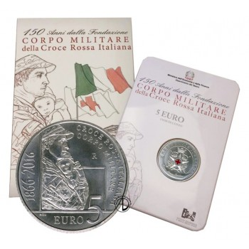 Italia - 2016 - 5€ Croce Rossa