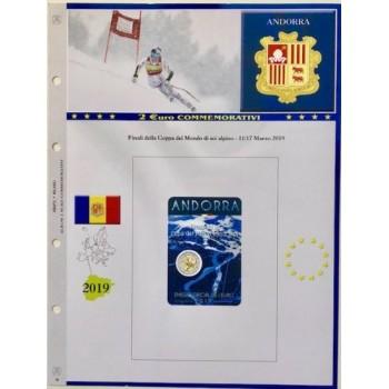Abafil Fogli 2€ Comm. 2019 Andorra