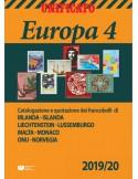 """Catalogo Unificato """"Europa 4"""" 2019/20"""