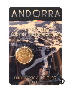 Andorra - 2019 - 2€ Sci Alpino (in blister)