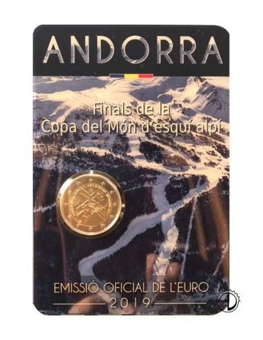Andorra - 2019 - 2€ Sci Alpino (in blister)