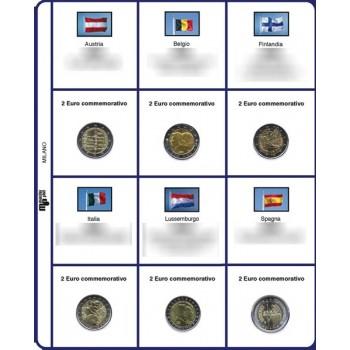MasterPhil Fogli 2€ comm. 2015 30° Ann. Bandiera