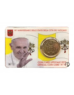 Vaticano - 2019 - Coin Card (n.10)