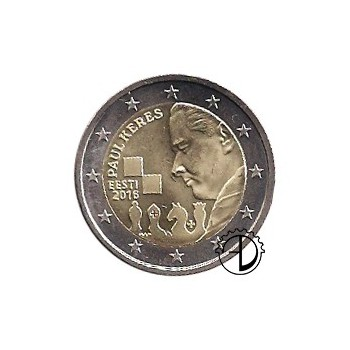 Estonia - 2016 - 2€ Paul Keres
