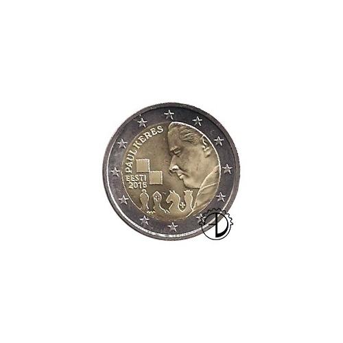 Estonia - 2016 - 2€ Paul Keres