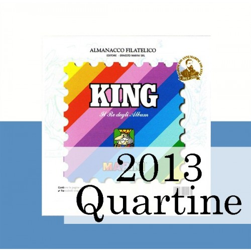 Fogli San Marino 2013 Quartine - King