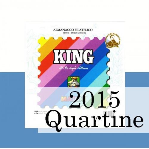 Fogli San Marino 2015 Quartine - King