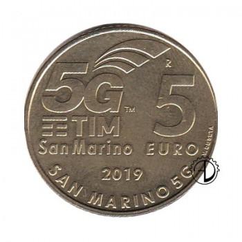 San Marino - 2019 - 5€ 5G