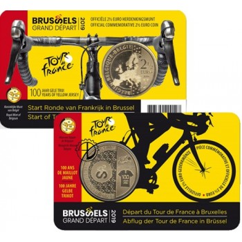 Belgio - 2019 - 2,50€ Tour de France (v. Francese)
