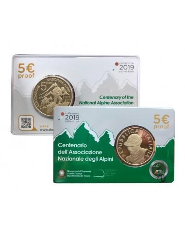 Italia - 2019 - 5€ Alpini