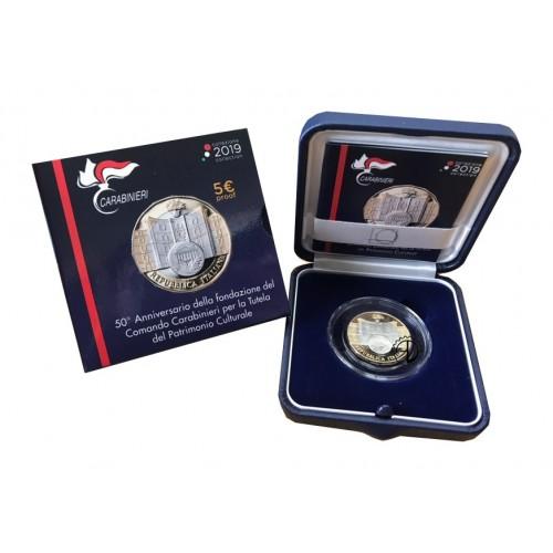 Italia - 2019 - 5€ Carabinieri