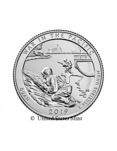 USA 1/4$ 2019 War in the Pacific