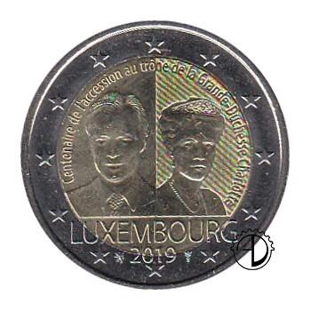 Lussemburgo - 2019 - 2€ Charlotte