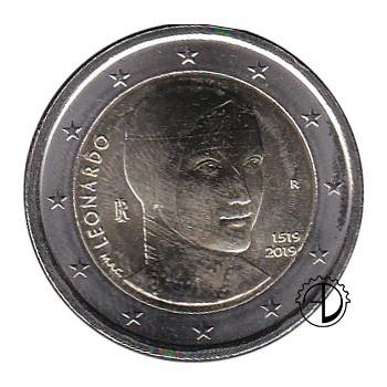 Italia - 2019 - 2€ Leonardo