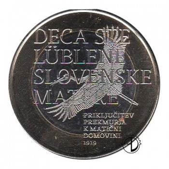 Slovenia - 2019 - 3€ Prekmurje