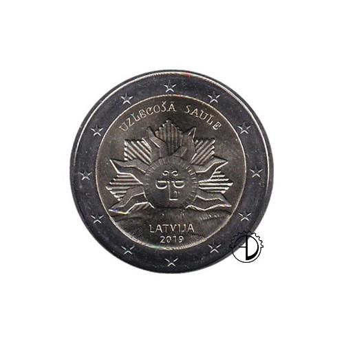 Lettonia - 2019 - 2€ Stemma