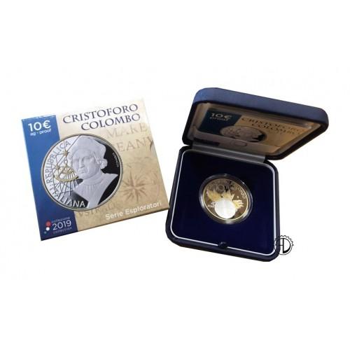 Italia - 2019 - 10€ Colombo