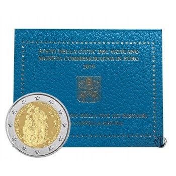 Vaticano - 2019 - 2€ Cappella Sistina