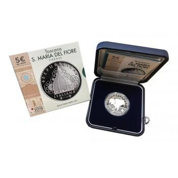 Italia - 2019 - 5€ Santa Maria del Fiore