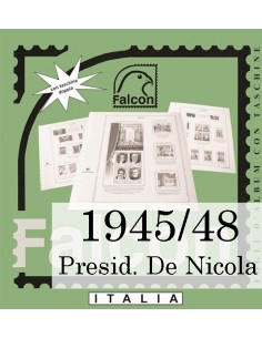 Fogli Italia Presidenza De Nicola (1945/48) - Falcon