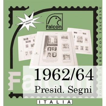 Fogli Italia Presidenza Segni (1962/64) - Falcon