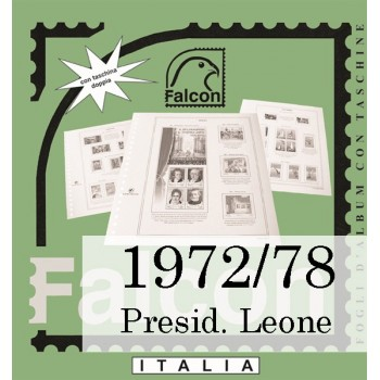 Fogli Italia Presidenza Leone (1972/78) - Falcon