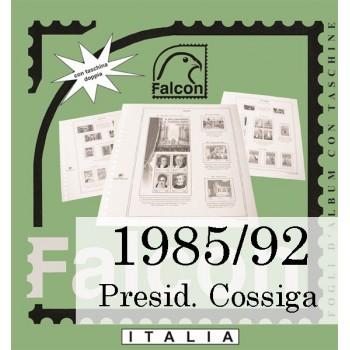 Fogli Italia Presidenza Cossiga (1985/92) - Falcon