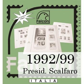 Fogli Italia Presidenza Scalfaro (1992/99) - Falcon