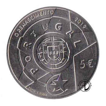 Portogallo - 2019 - 5€ Rinascita