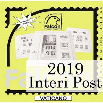Fogli Vaticano 2019 Interi Postali - Falcon