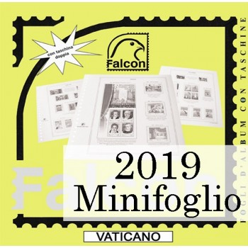 Fogli Vaticano 2019 MF Patti Lateranensi - Falcon