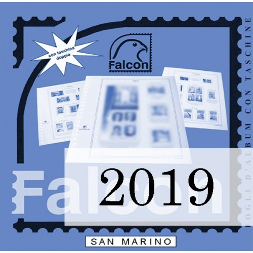 Fogli San Marino 2019 - Falcon