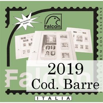 Fogli Italia 2019 Codice a Barre - Falcon