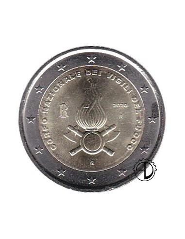 Italia - 2020 - 2€ Vigili del Fuoco