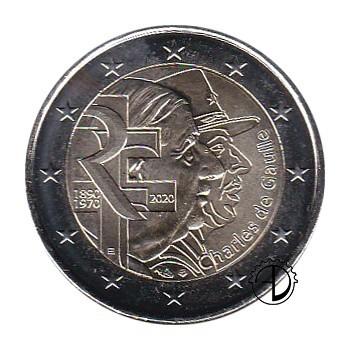 Francia - 2020 - 2€ De Gaulle