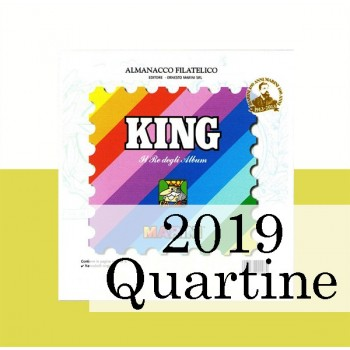 Fogli Vaticano 2019 Quartine - King
