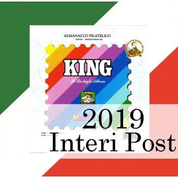 Fogli Italia 2019 Interi Postali - King